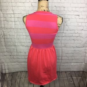 Juicy Couture Dresses - Juicy Couture Stripe Flare Sleeveless Dress